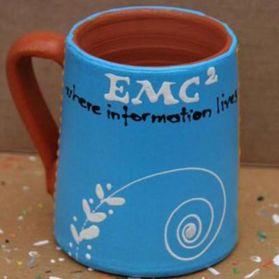 Cana personalizata conica EMC