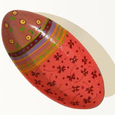 Platou oval handmade