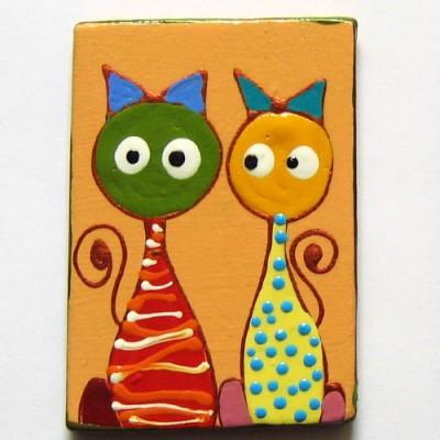 Magnet de frigider cu pisici