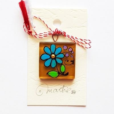 """Mărțișor handmade """"Floare"""""""