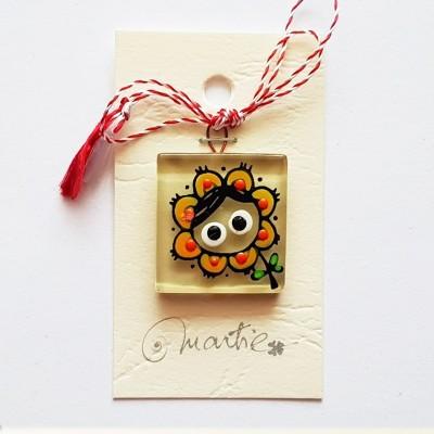 """Mărțișor handmade """"Floarea..."""