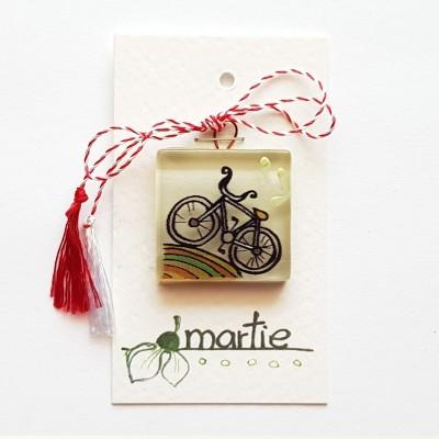 """Mărțișor handmade """"Bicicletă"""""""
