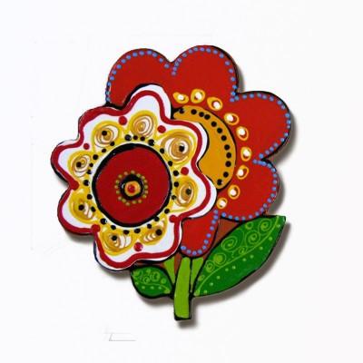 """Figurină din ceramică """"Floare"""""""