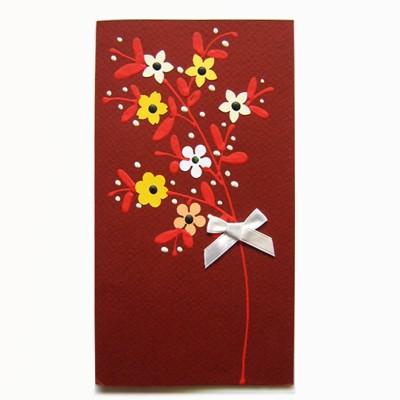 """Felicitare """"Flori de cireș"""""""